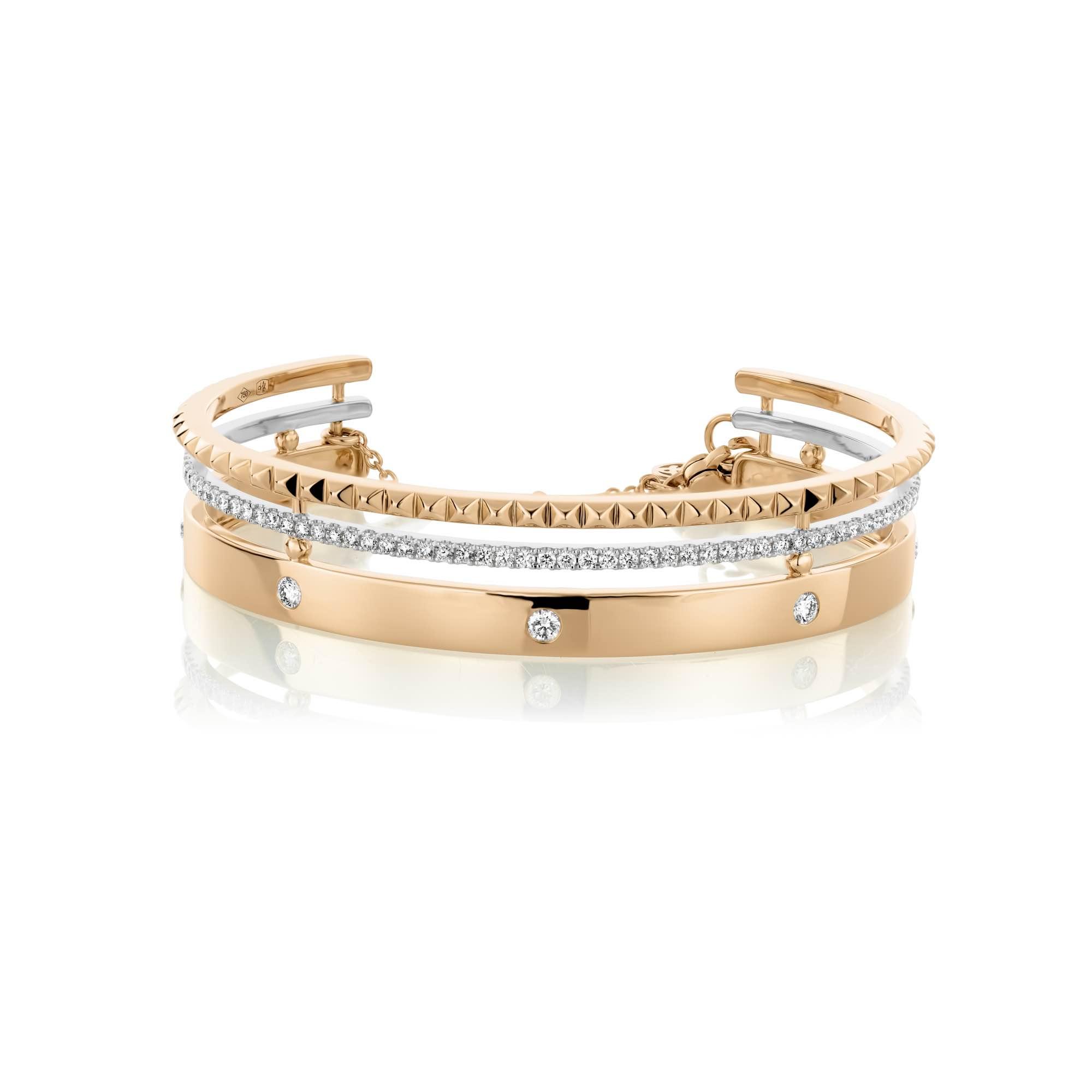 Cubini Armband - (60374b-RWW)