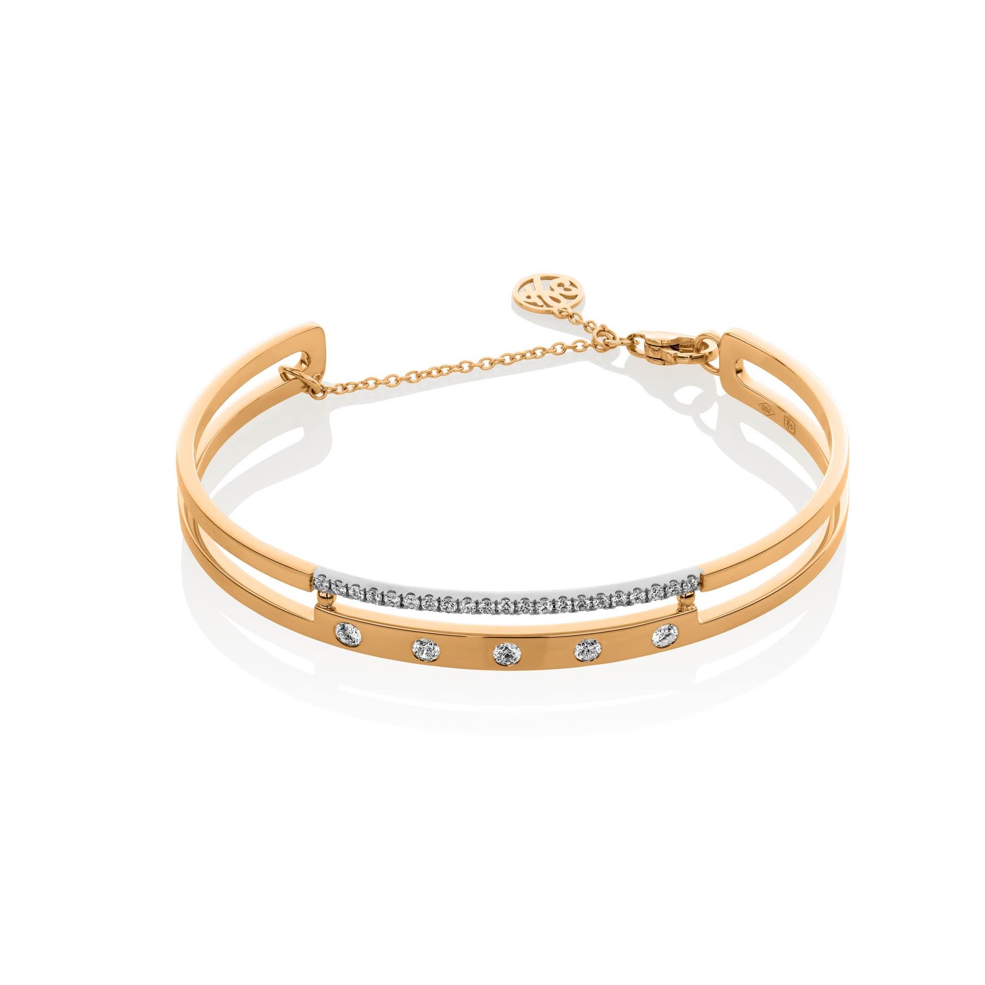 Cubini Bracelet - (60378-RWW)